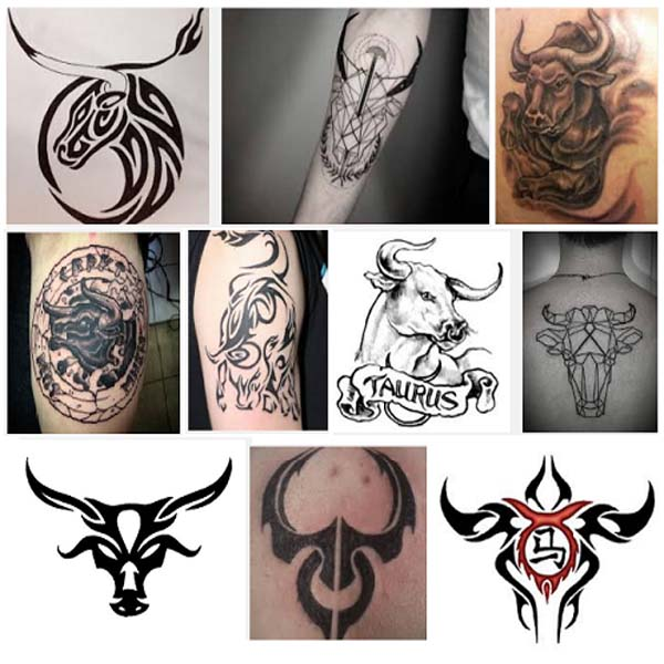 taurus tattoo designs