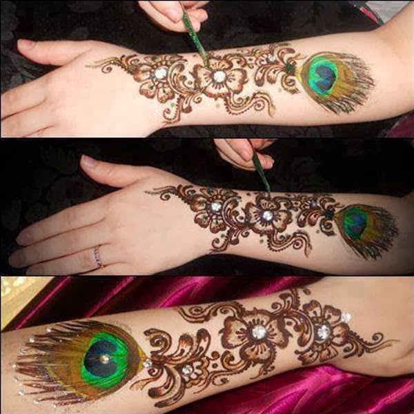 Bombay Style Mehndi Designs With Images
