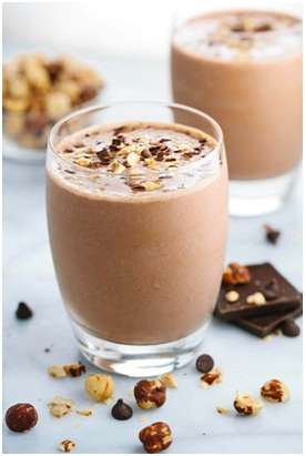 Chocolate Hazelnuts Shake