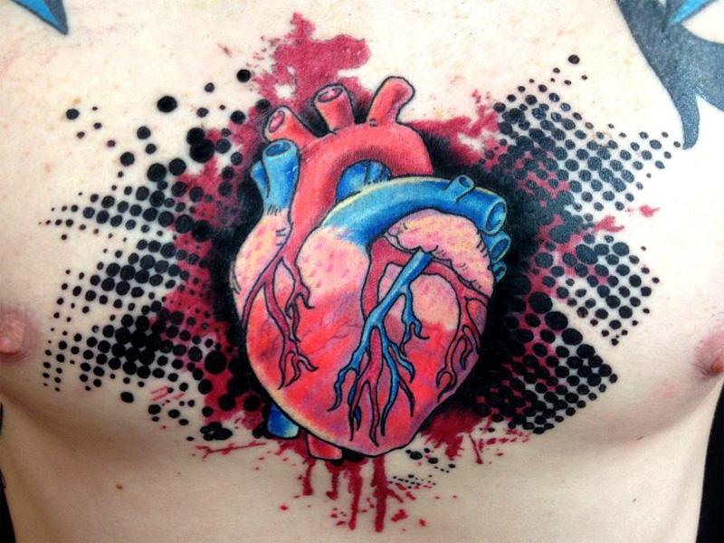 bio organic tattoo