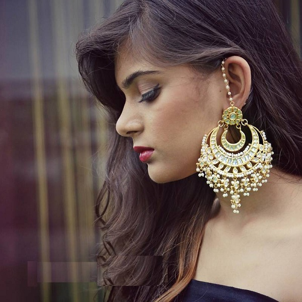 d226bdcee 9 Beautiful Designer Big Earrings for Women | Styles At Life