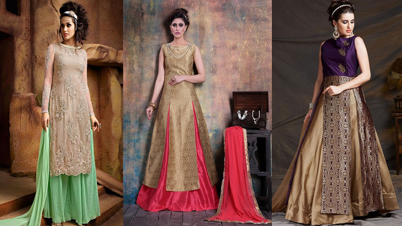 9 New Designs of Salwar Kameez Skirts for Womens | Styles At Life