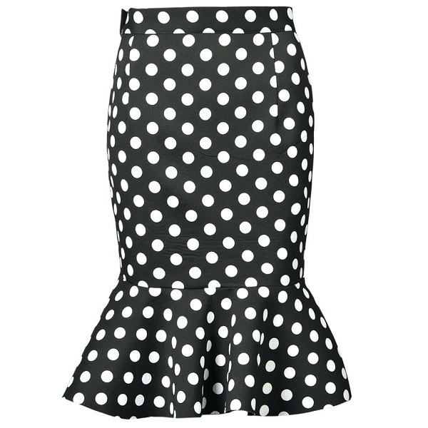 Fashionable Polka Dot Skirts for Women