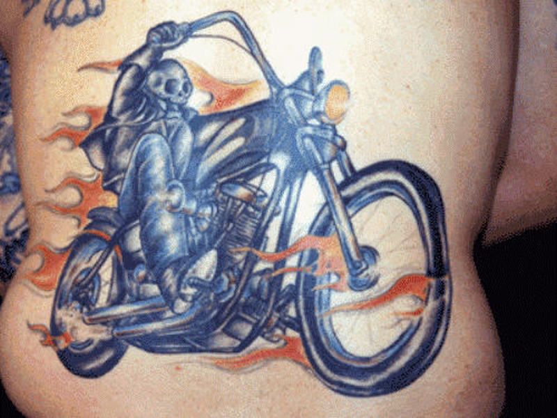 biker tattoo designs