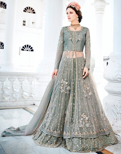 854da121027 15 Dazzling Designs of Silver Salwar Suits For Every Occasion!