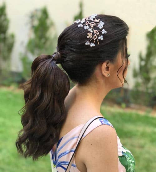 French Ponytail Hairstyles 10