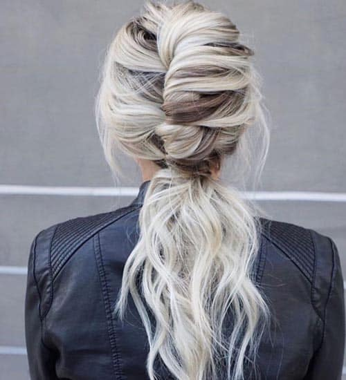 French Ponytail Hairstyles 3
