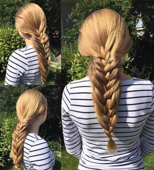 French Ponytail Hairstyles 4