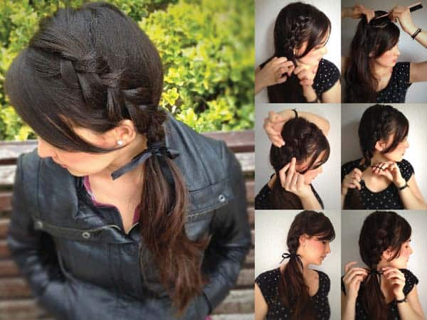 French Ponytail Hairstyles 5