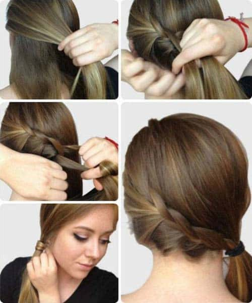 French Ponytail Hairstyles 7