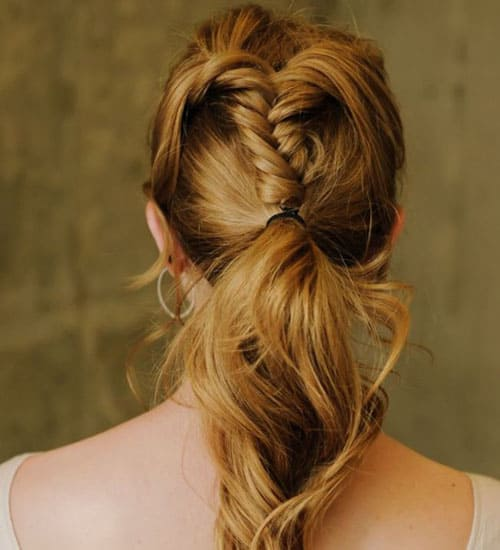 French Ponytail Hairstyles 8