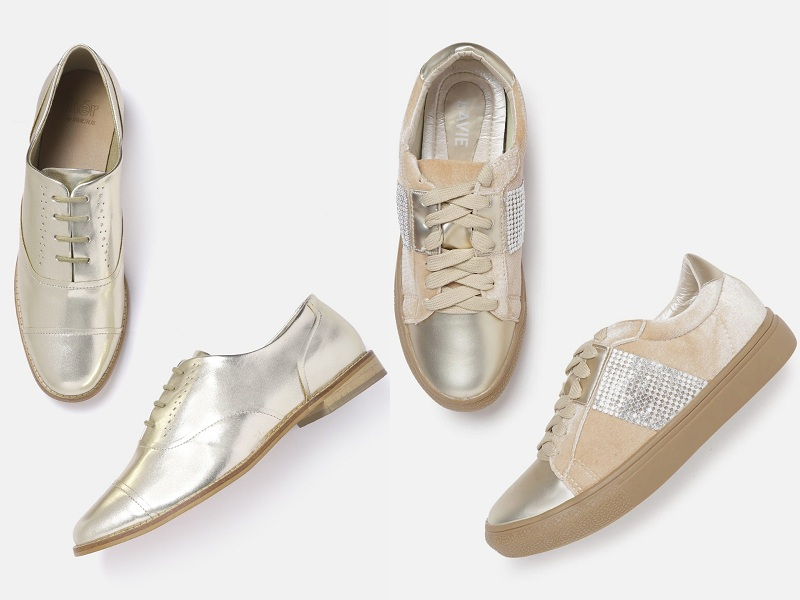 Gold Shoes Designs - 15 Trending Collection for Men and Women