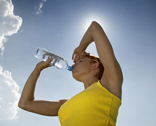 Hydrate to Prevent Neck Wrinkles