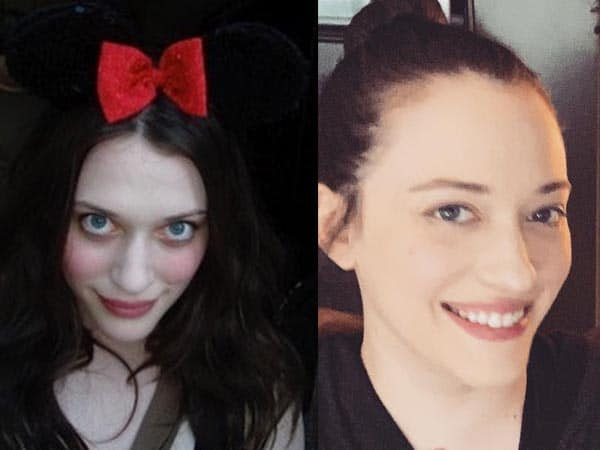 Kat Dennings without Makeup 8