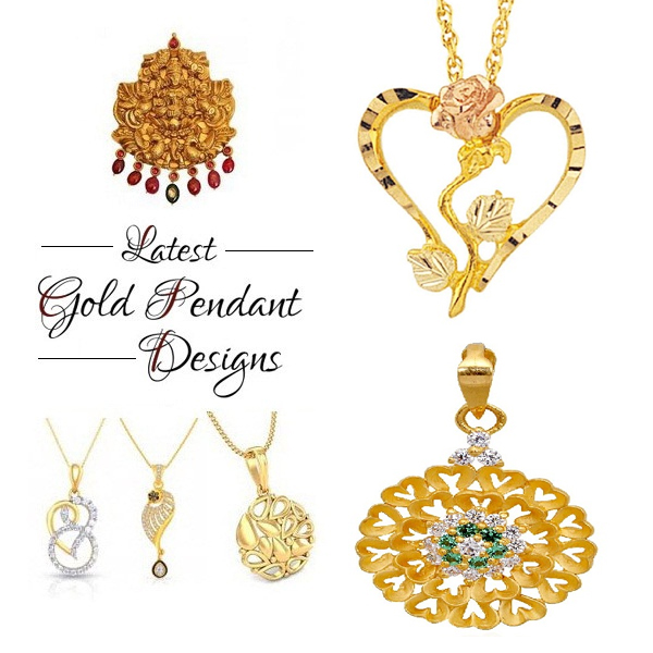 Latest Gold Pendant Designs for Men and Women