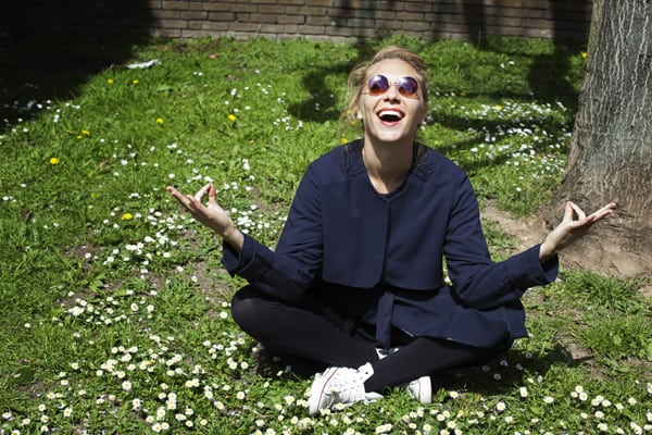 Laughter Yoga Poses