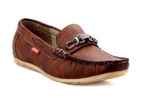 Leather Skin Loafers