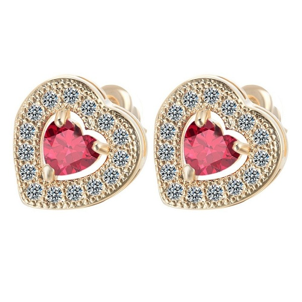 Look Solitaire Earrings in Latest Designs