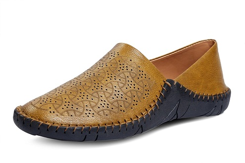 Men's Synthetic Leather Driving Loafer Shoe