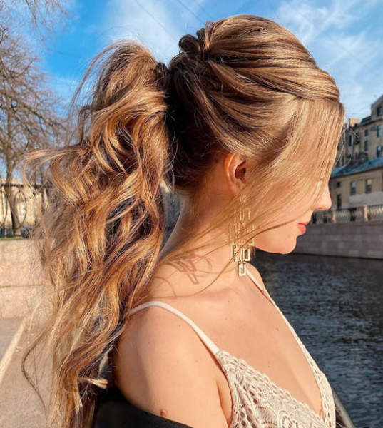 15 Messy Ponytail Hairstyles And Trends Latest Looks And Ideas