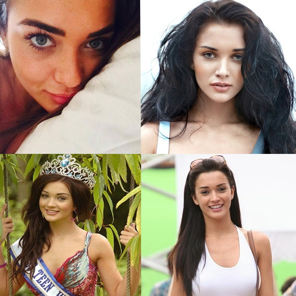 Amy Jackson without Makeup