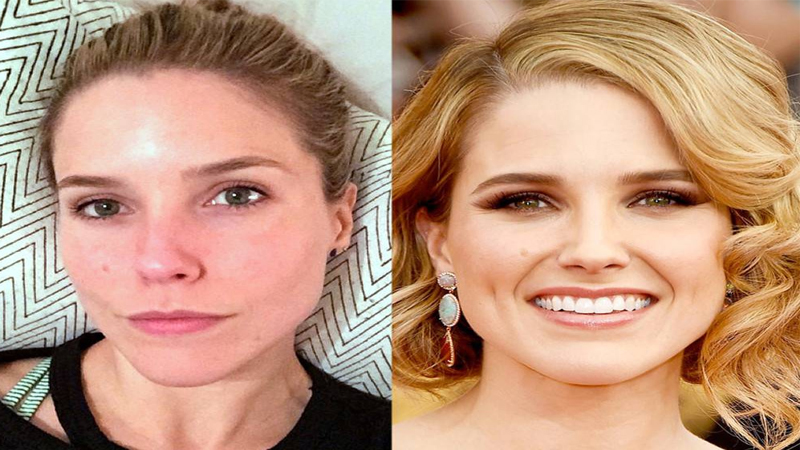 Sophia Bush without Makeup