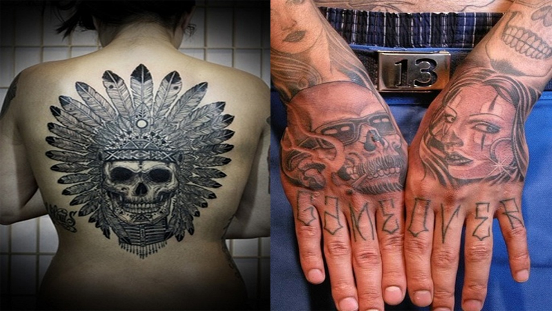 9 Powerful & Ugly Gangster Tattoo Designs | Styles At Life