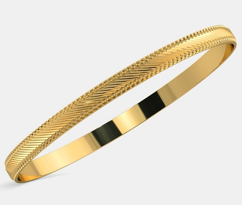 10 Latest Collection of Gold Bangles in 10 Grams | Styles At Life