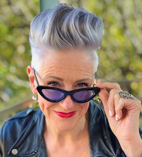 women over 50 with mohawks