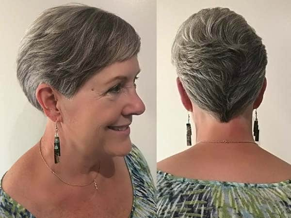 25 Latest And Stylish Short Haircuts For Women Over 40 To 60