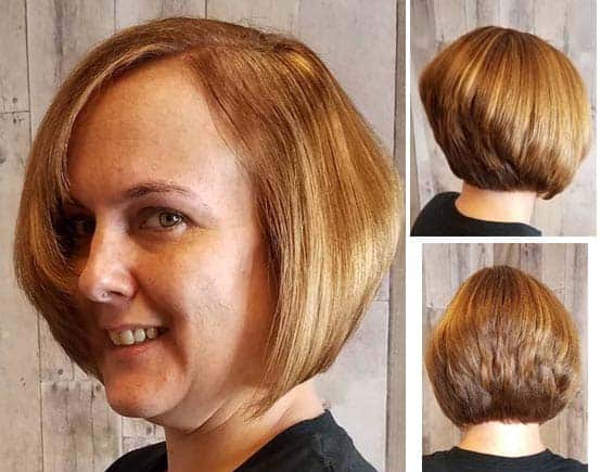 Chubby Haircut for Those Over 50