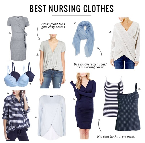 93506970dcbba Let s just get you started with how to use a breast feeding top for nursing  your infant.