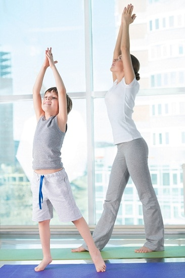 Tadasana for height growth