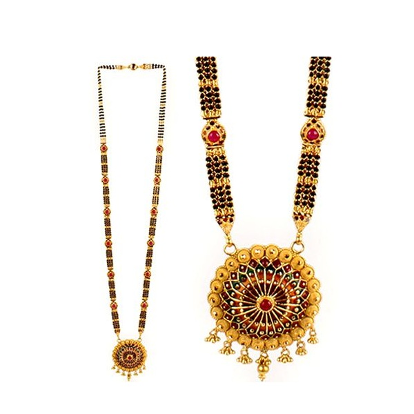 Traditional Nepali Mangalsutra Designs