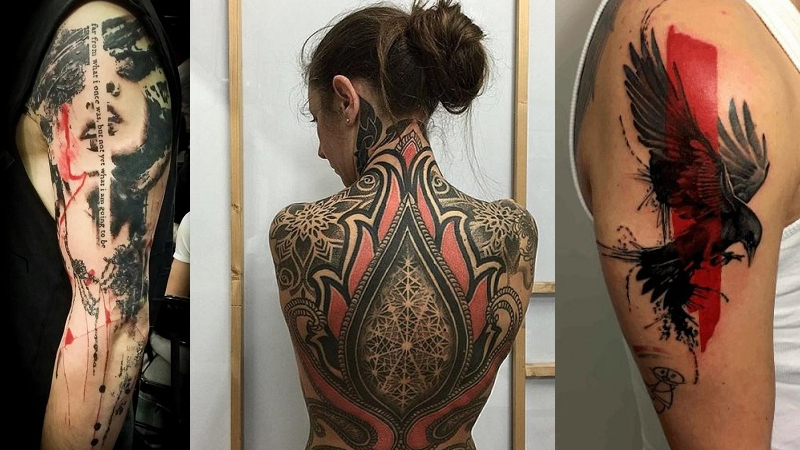 6868af209 Top 9 Trash Polka Tattoos With Magnificent Designs and Ideas | Styles At  Life