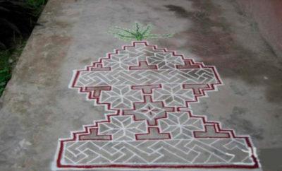 Best Tulsi Rangoli Designs