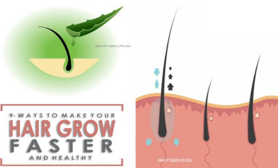 Tips for hair growth