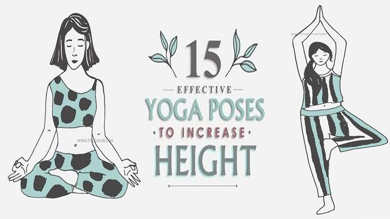 Yoga For Height Increase - Top 15 Asanas to Help You Grow