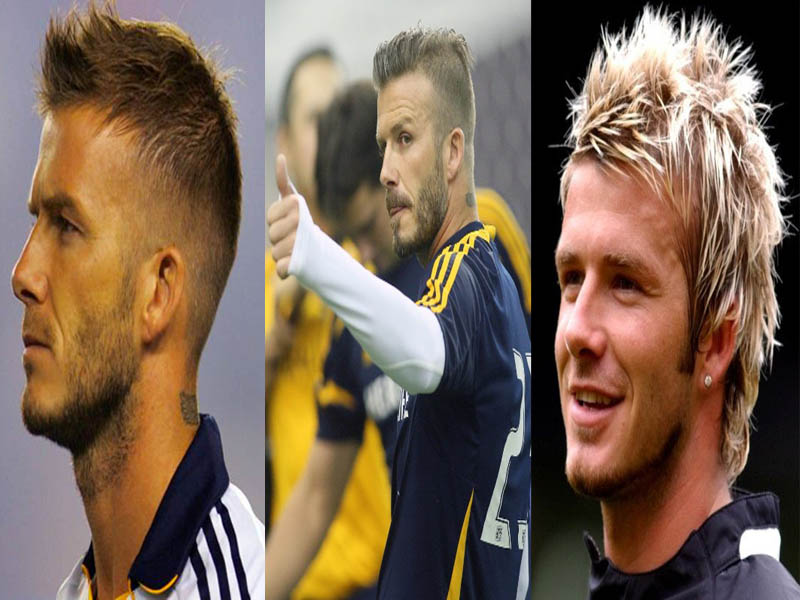 david bekham hairstyles
