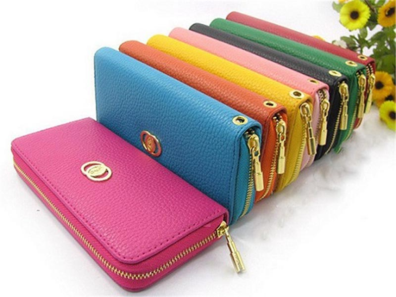 Zip Wallets for Men and Women