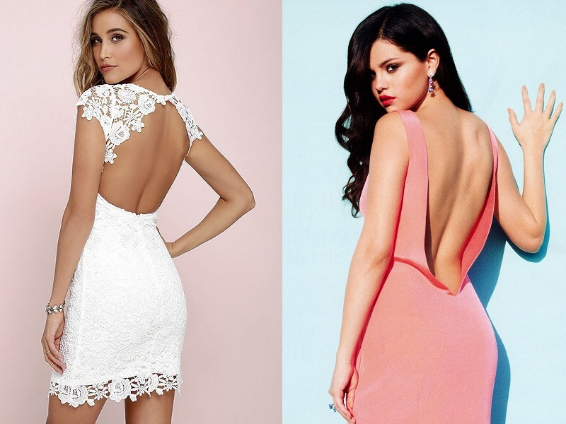 15 Stylish Backless Dress Designs For Women In Fashion Styles At Life