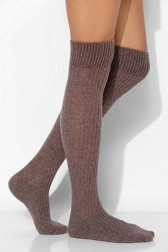 Cashmere Tube Socks
