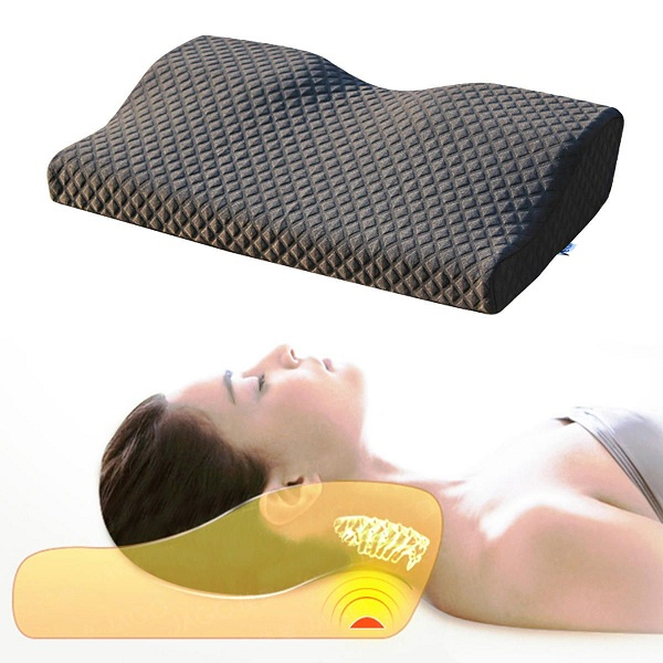 Contour Pillows For Neck And Back Pain