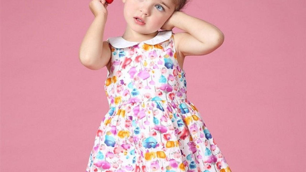 b506282cff3a Frocks for 2 Years Old Girl - Latest and Pretty Designs