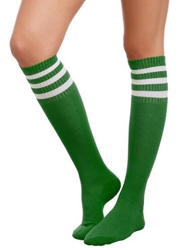 Green Tube Socks