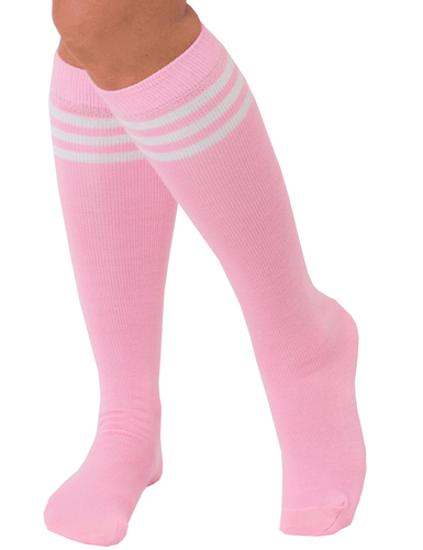 Pink Tube Socks