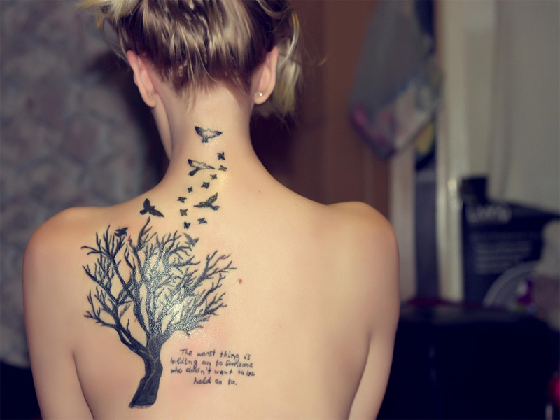 2685d80e938e3 25 Best Tree Tattoo Designs with Meanings | Styles At Life