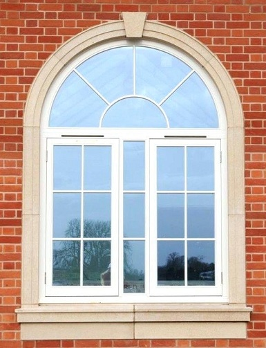 An Arched Window Is A Timeless Beauty Windows Are Built To Enhance The Look Of Elevation House This Adds