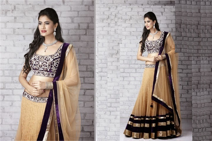 Beautiful Designer Lehenga Sarees