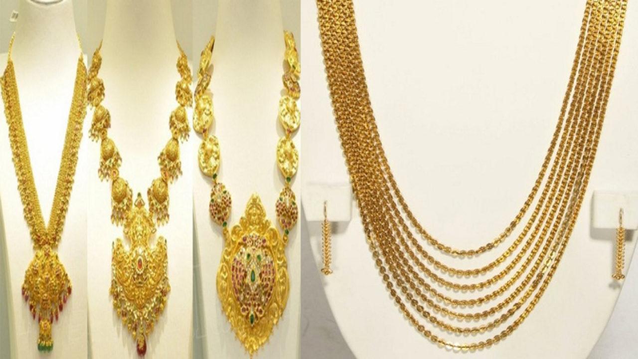 Price Joyalukkas Gold Haram Designs In 40 Grams